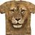 Lion Shirt Warrior T-shirt Tie Dye Adult Tee