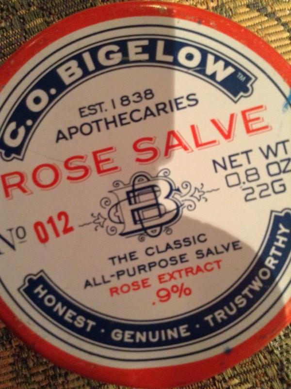 nail polish rose salva c.o. bigelow