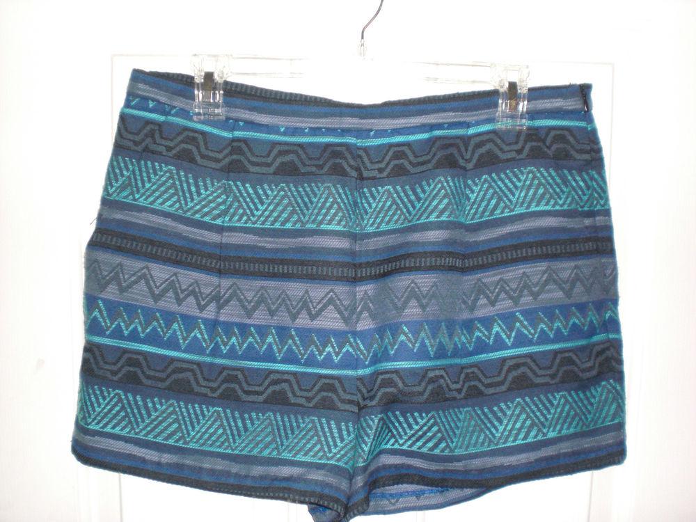 Women's Forever 21 Chevron Print Shorts Size Large | eBay