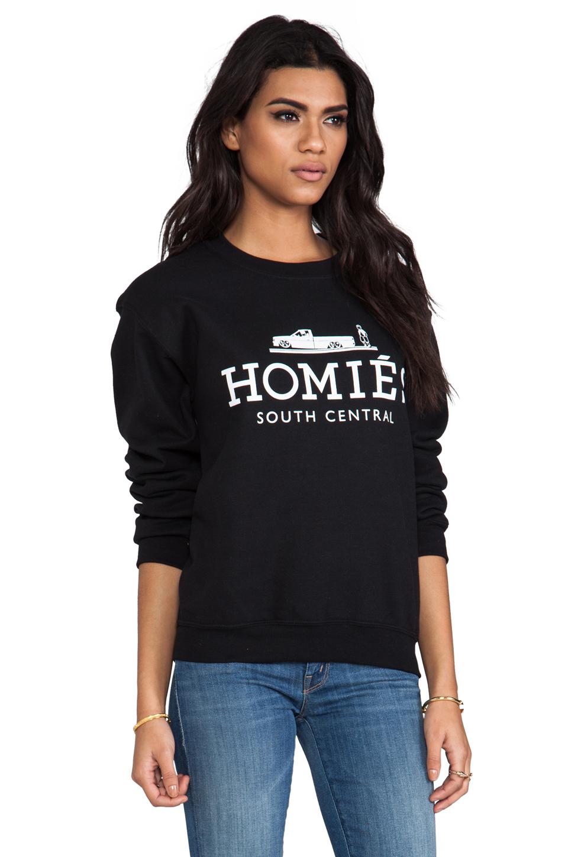 Brian Lichtenberg Homies Sweatshirt in Black/White | REVOLVE