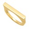 Skinni solid bar ring - alexandra jules
