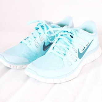 shoes baby blue nike women's running shoes