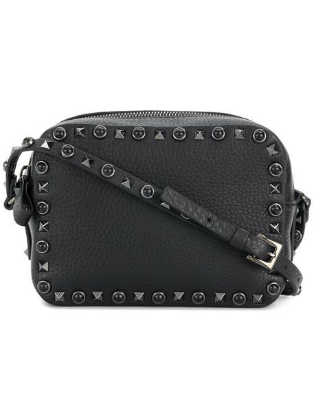 Valentino Garavani women bag crossbody bag leather black