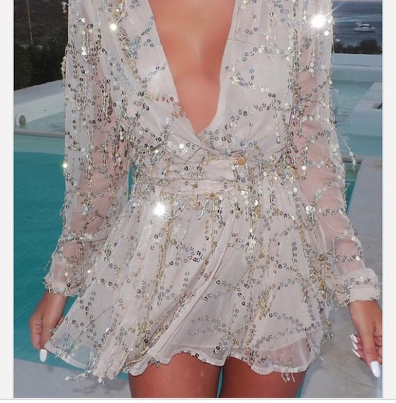 beige dress style