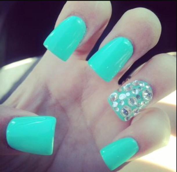 nail polish blue nail polish sparkle sparkle fashion style casual