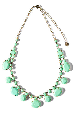 jewels fluo neon diamonds necklace aztec style necklace