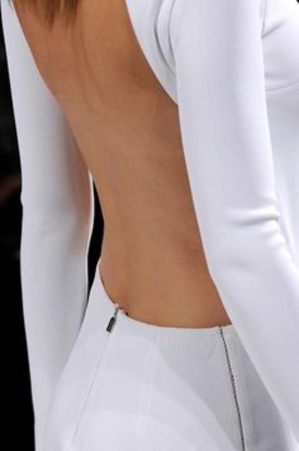 dress white dress backless backless dress open back open backed dress white