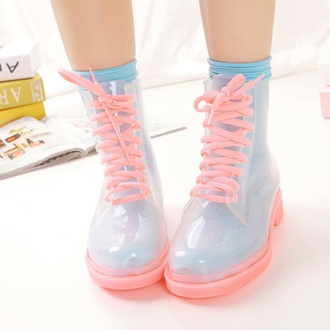 shoes pastel pink baby blue tumblr