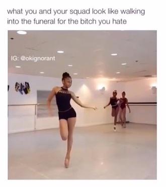 top ballerina cute ballet halter top