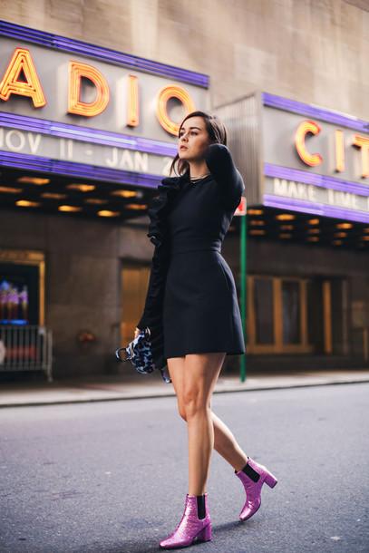 Style Scrapbook Blogger Dress Shoes Bag Black Dress Glitter