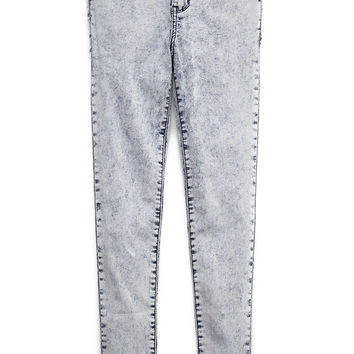 Acid Wash Skinny Jeans (Kids) on Wanelo