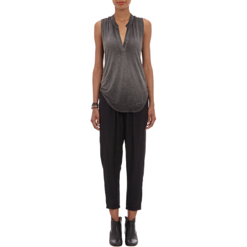 Neck sleeveless top at barneys.com