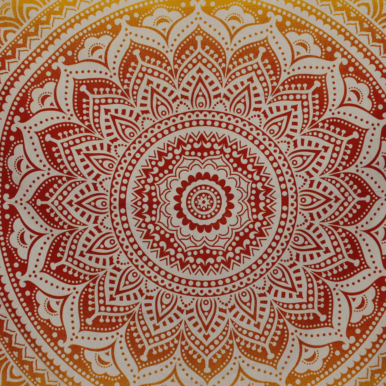 Red Ombre Wall Tapestry, Queen Size Mandala Wall Tapestry and Bedspread, Hippie Blamket, Beach throw, Picnic sheet, cotton fabric wall art