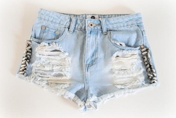 shorts blue blue shorts pants
