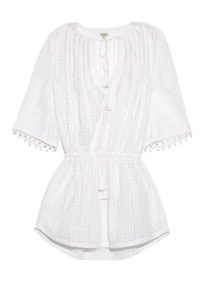 Embroidered cut-out cotton dress   Talitha   MATCHESFASHION.COM US