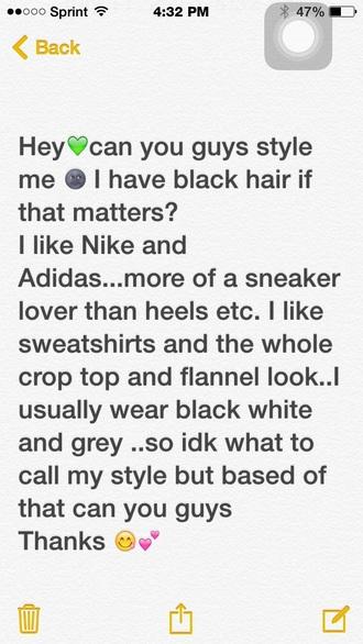 bag nike adidas style me