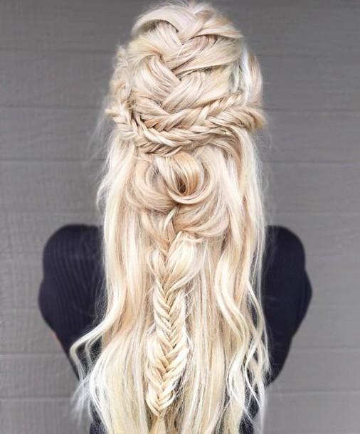 Hair Accessory Back To School Blonde Hair Long Hair
