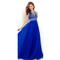 2016 royal blue floor length beaded bodice celebrity prom dresses pst0138