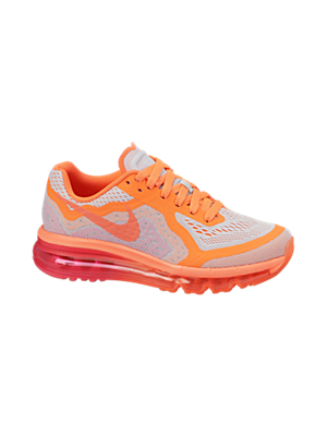 The Nike Air Max 2014 (3.5y-7y) Girls' Running Shoe.