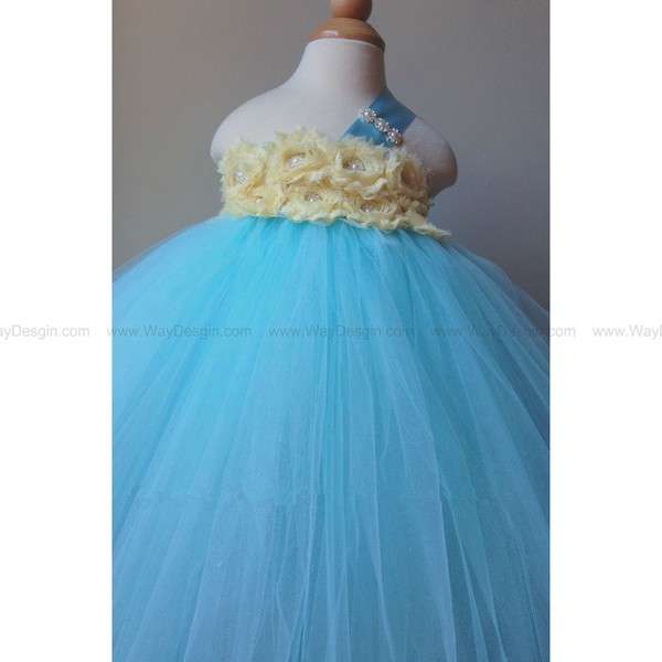 flower girl dress toddler tutu dress