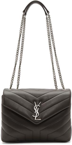 Saint Laurent bag chain bag grey