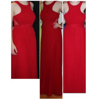 dress floor length halter front halter neck red red dress formal chiffon mesh mesh panel australia long dress australian prom prom dress bariano