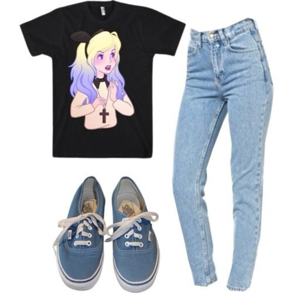 shirt pants alice in wonderland alice and wonderland shirt
