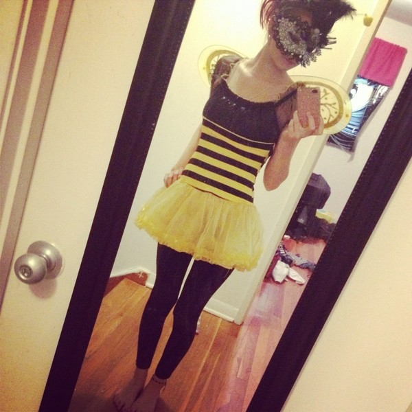 dress bumblebee halloween costume