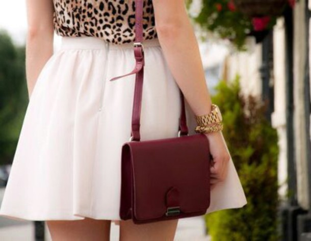 bag wine color mini bag cross bag