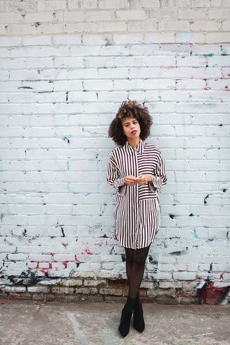 style me grasie blogger shirt dress shoes