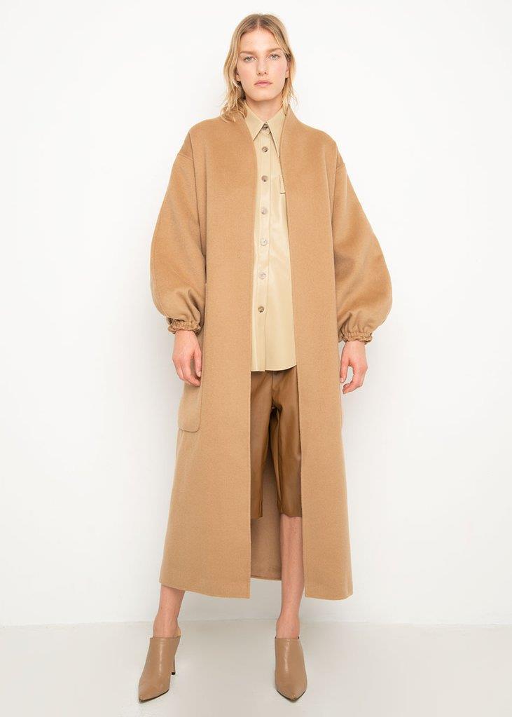 Monk Coat by Shaina Mote- Camel