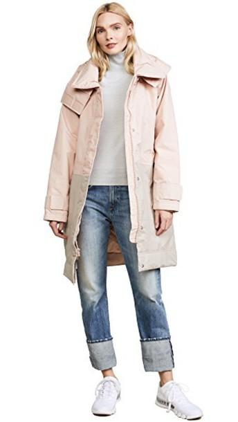 ADIDAS BY STELLA MCCARTNEY jacket long rose pearl