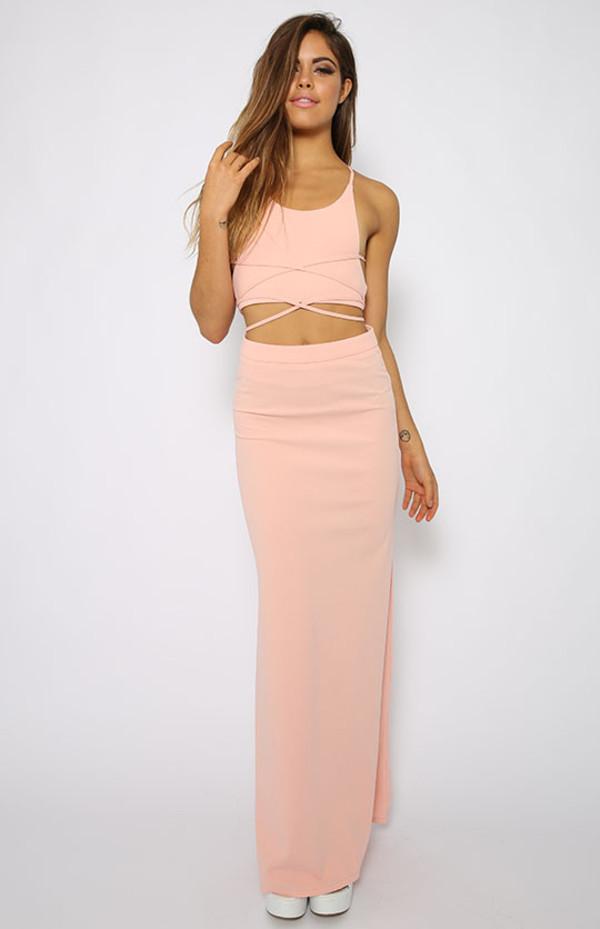 dress suit skirt top