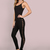 Side Strap Skinny Jumpsuit BLACK -SheIn(Sheinside)