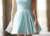 dress,floaty dress,blue,clothes,blogs,tumblr,lace,duck egg blue,pastel blue dress,cocktail dress,knee length,blue lace dress,short,laced,cute,light blue