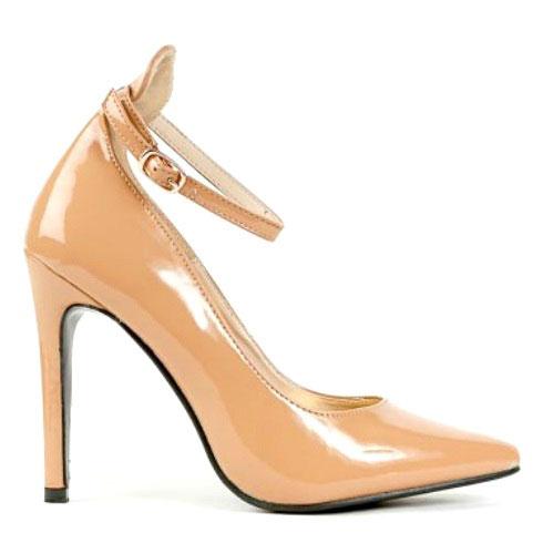 Veny Black Nude Red White Pointy toe Pump Stiletto Heels - Cutesy Originals