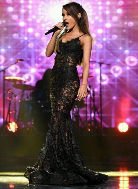 Ariana Grande Black Dresses