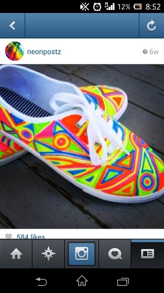 shoes neon colorful shoes colorful awesome! omg shoes