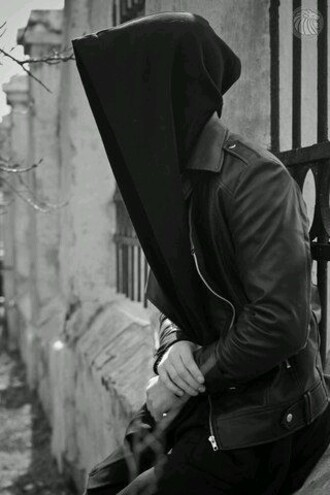 coat black hoodie hood oversized