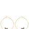 Grey elephant earrings