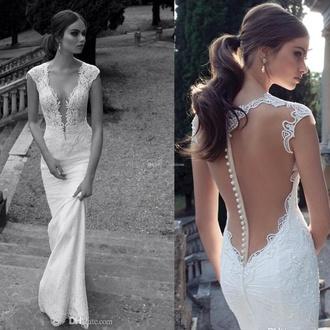dress long dress wedding dress