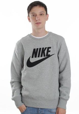 Nike - PL Brushed Dark Grey Heather/Black - Sweater - Official Streetwear Online Shop - Impericon.com Worldwide