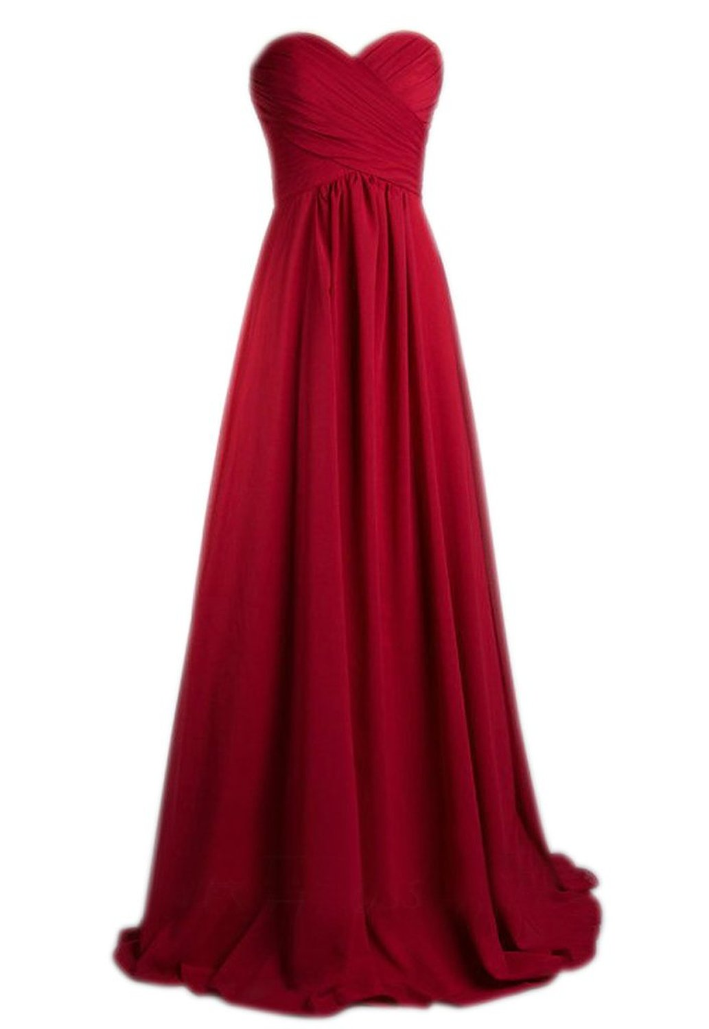 Prettydresses Women 39 S Long Burgundy Wedding Party Dress