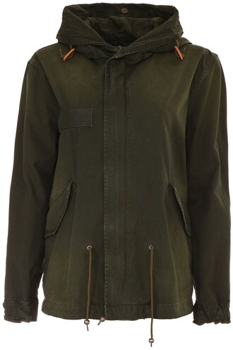 parka mini coat