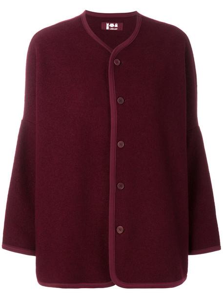 Labo Art cardigan cardigan women wool red sweater