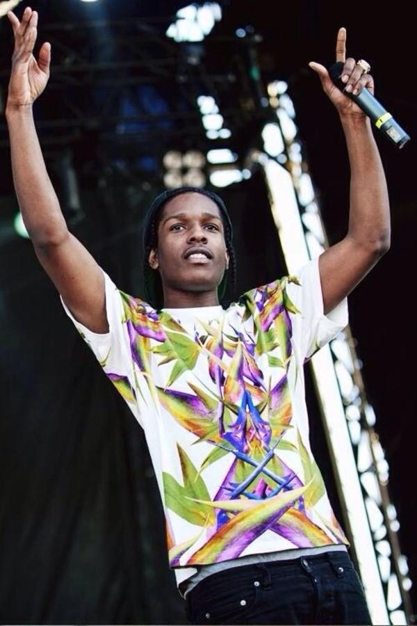 shirt ASAP Rocky