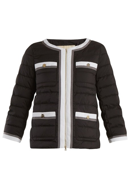 Herno jacket high quilted black