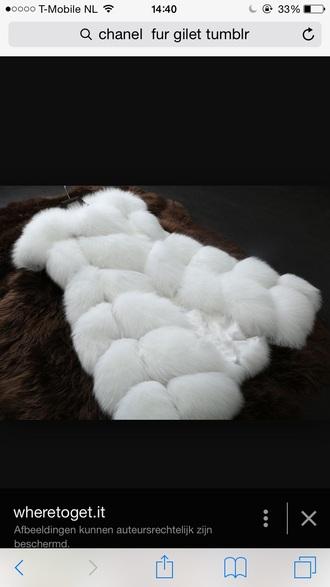 coat gilet fur coat fur fur gilet