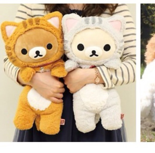 Jewels San X Cats Plushie Rilakkuma Stuffed Animal