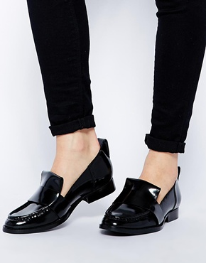 ASOS | ASOS MOONLIGHT Leather Loafers at ASOS